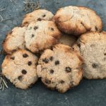 Suikervrije kokos chocolate chip cookies