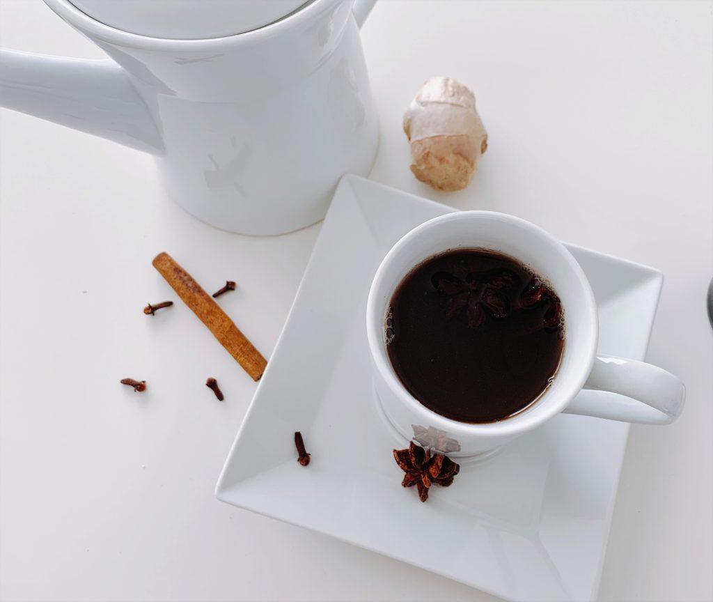 Huisgemaakte Chai thee
