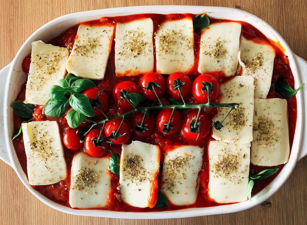Saltimboca van kip met tomatensaus