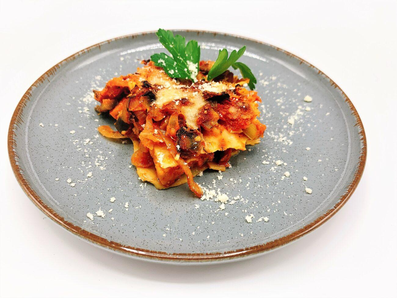 Gezonde lasagne met zalm